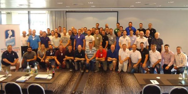 IIHF Officials 2015