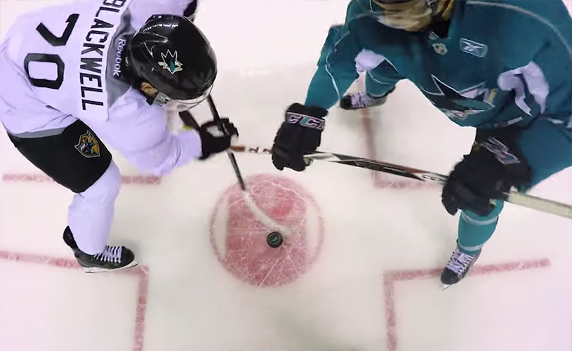 Ref Cam for Sharks' Prospect Game