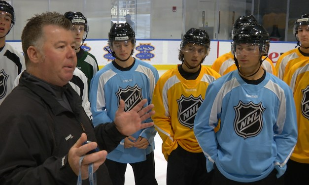 NHL Recruiting Referees, Linesmen with Exposure Combine