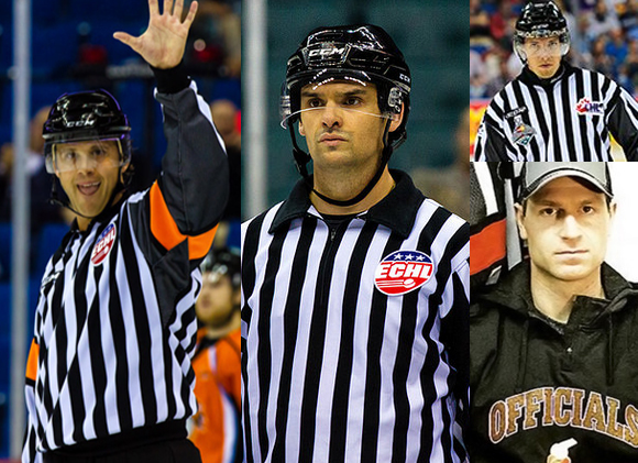 NHL Hires Four New Officials for 2015-16