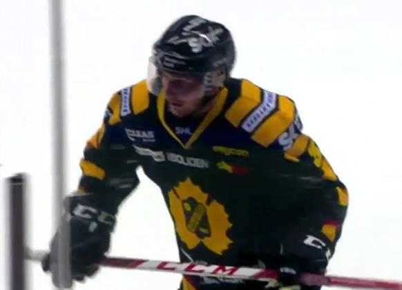 Swedish Player's Penalty Box Fail