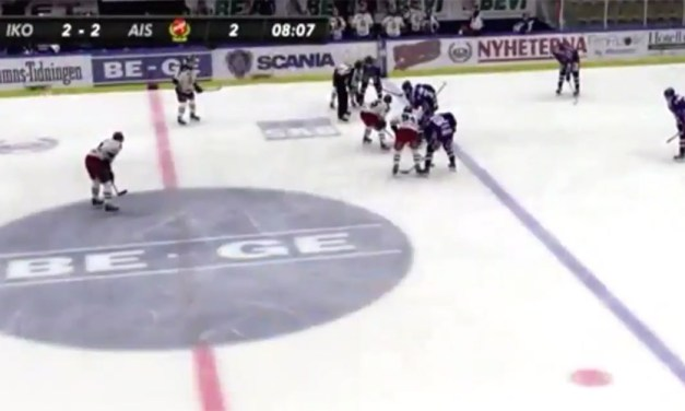 Swedish League Player Gets Two Minutes for Untying Opponent's Skates
