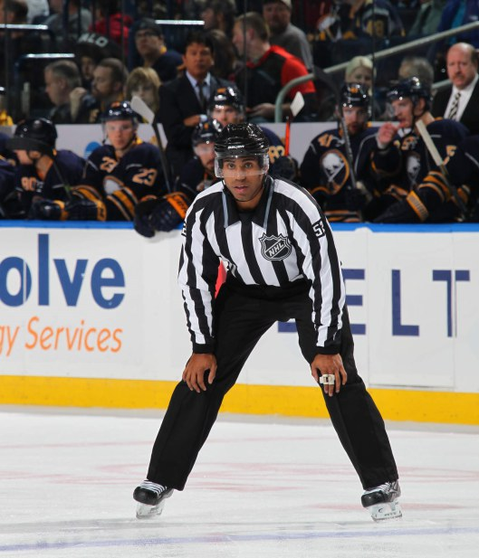 Alphonso chose becoming an NHL linesman over chasing a pro hockey career