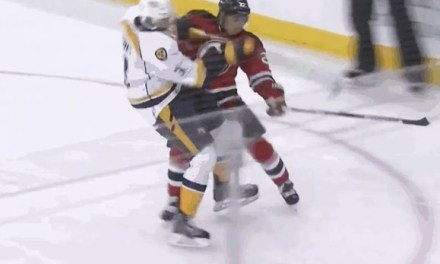 Devils' Tootoo Fined $2,217 for 'Dangerous Trip' on Preds' Seth Jones