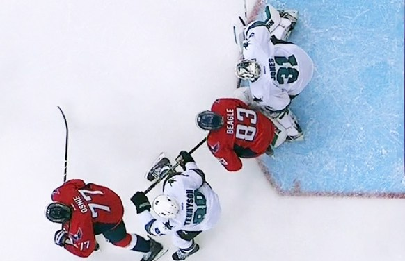 Caps' Goal Called Back After Coach's Challenge
