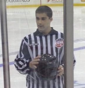 ECHL Linesman Camden Nuckols