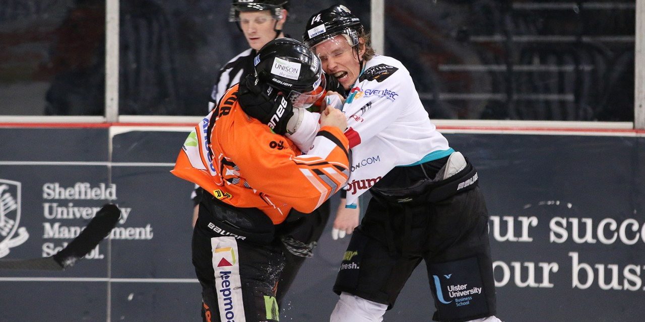 EIHL Ref Tom Darnell Mic'd Up During Fight