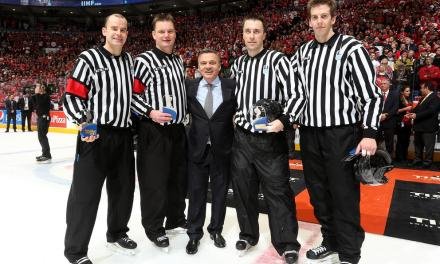 Q&A With Spengler Cup Head Referee Tobias Wehrli