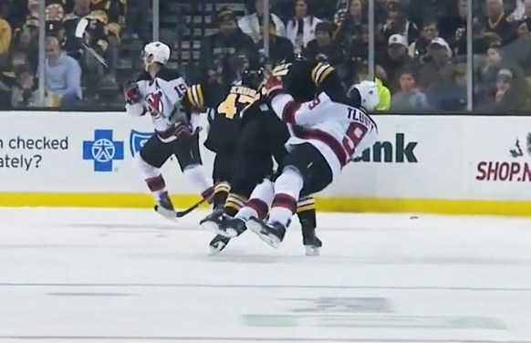 Bruins' Talbot Suspended Two Games for Late Hit