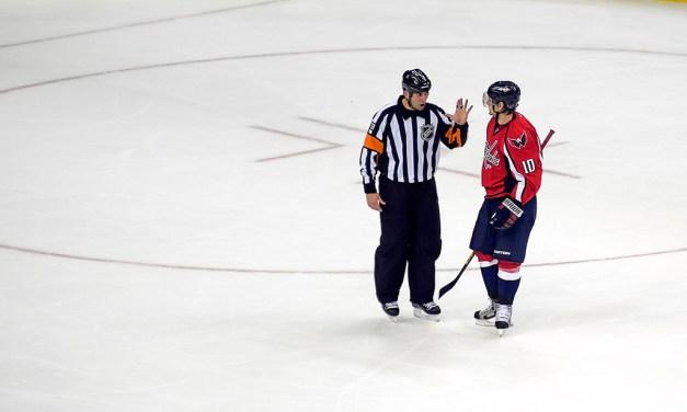Referee Francois St-Laurent Returns to the NHL