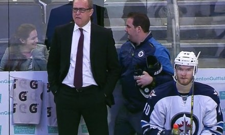 Winnipeg Jets Coach Paul Maurice Ejected From Game