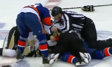 5 Years Ago Today: Penguins, Islanders Combine for 346 PIM