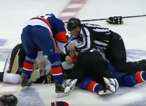 5 Years Ago Today: Penguins, Islanders Combine for 346 PIM