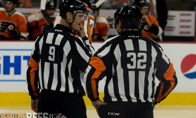 Tonight's NHL Referees & Linesmen – 10/22/16