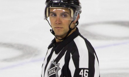 NHL Referee Dave Lewis Talks Off-Ice Preparation