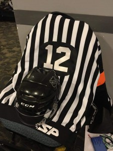 WCHA Referee Butch Mousseaux