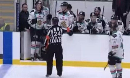 EIHL Suspends Peacock 2 Games for Abuse of Official