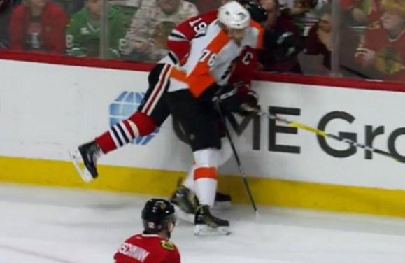 Flyers' VandeVelde Suspended 2 Games for Elbowing
