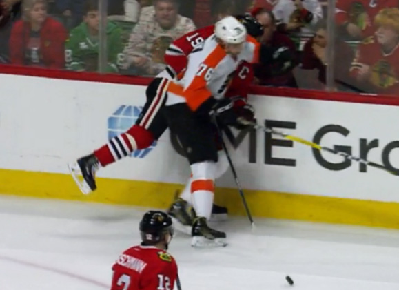 Flyers' VandeVelde Suspended 2 Games for Elbowing