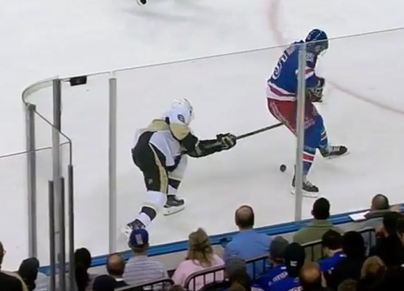 Penalty Playback – Rangers/Penguins Game 4