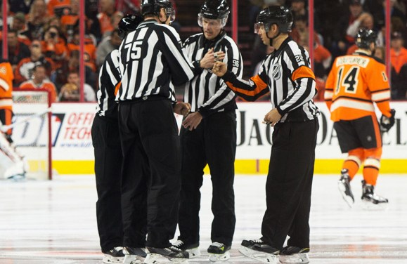 New Names, New Numbers: NHL Officials for 2018-19