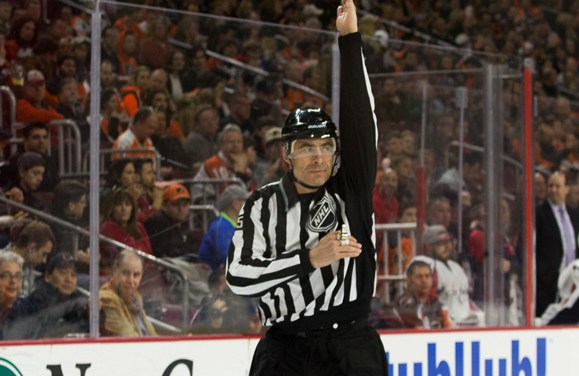 Tonight's NHL Referees and Linesmen – 3/27/18