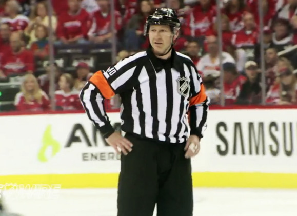 Mic'd Up: Referee Steve Kozari at Pens/Caps