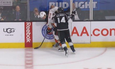 Kings' Gilbert Suspended 3 Games for Boarding Ducks' Ritchie