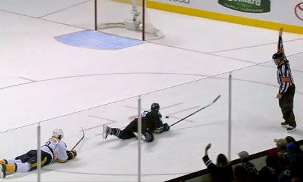 When Is A Goal Not A Goal? Ask Sharks' Thornton
