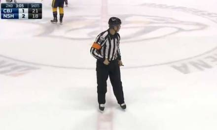 Referee Caught Cursing With Open Mic