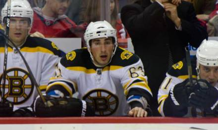 Bruins' Marchand Fined $10,000 for Tripping Wings' Kronwall