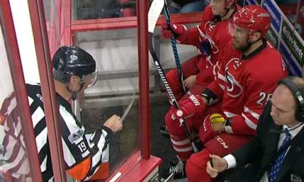 Ref Blasts Canes' Stalberg For Arguing Call