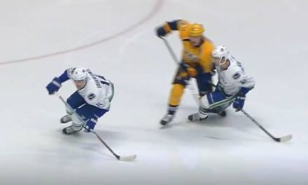 No Hearing for McLeod's Hit on Baertschi
