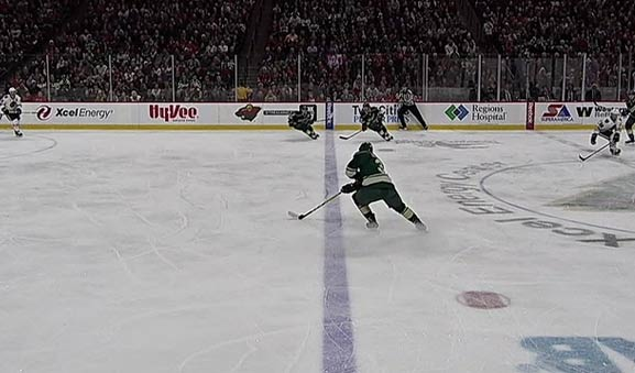 Wild Goal Stands After Inconclusive Offside Review