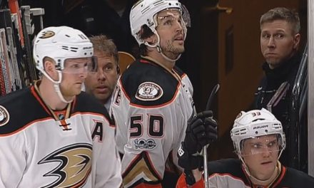 Ducks' Vermette Deserves No Reduction to Suspension for Slashing Linesman