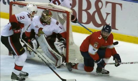 Panthers' Yandle Fined for Diving/Embellishment
