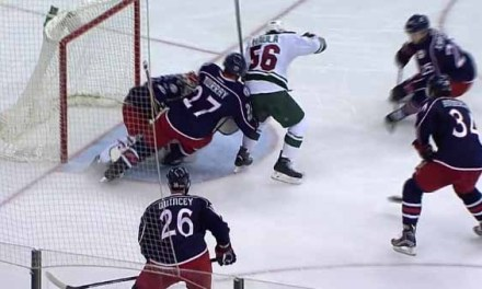 Wild Goal Disallowed After Haula Kicks Puck