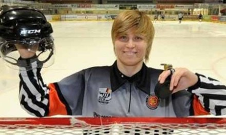 IIHF: Germany's Nicole Hertrich a Gold Medal Ref