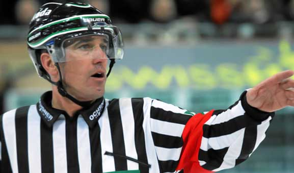 IIHF Referee Danny Kurmann Retires, Moves to Officiating Supervisor
