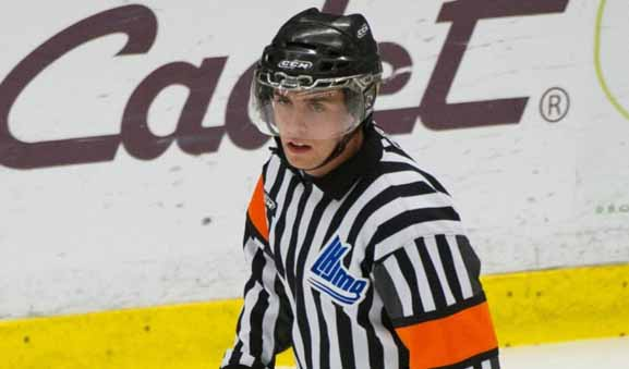 Referee Olivier Gouin Heads to IIHF Worlds