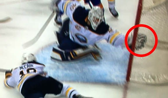Buffalo's Lehner Claims Sabres Loss was 'Predetermined' by League