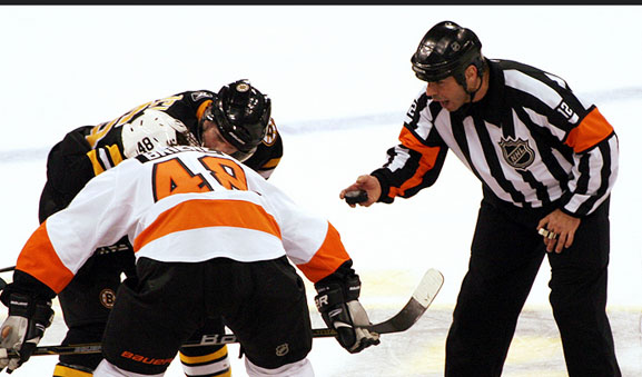 NHL Referee Justin St. Pierre Talks Criticism, Communication, Camp