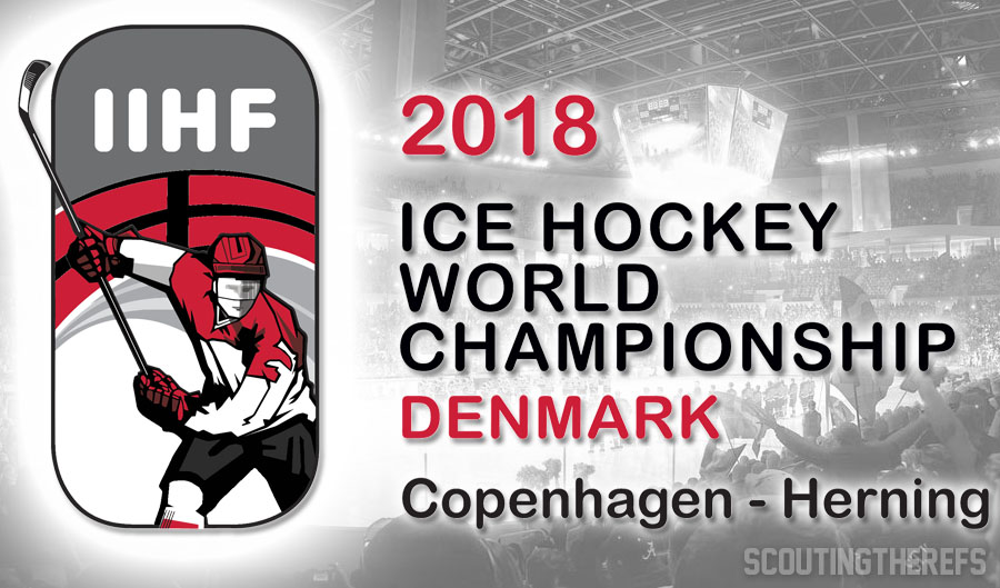 Today's IIHF World Championship Referees and Linesmen – 5/19/18