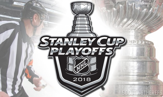 NHL Names Referees and Linesmen for 2018 Stanley Cup Playoffs