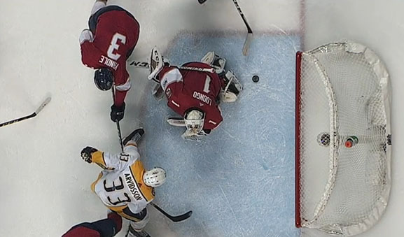 Preds' Last-Second Goal Overturned by NHL's Situation Room
