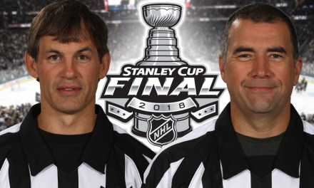 Tonight's NHL Stanley Cup Final Game 3 Referees and Linesmen – 6/2/18
