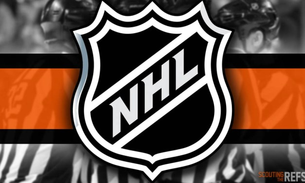 Tonight's NHL Referees and Linesmen – 1/13/19
