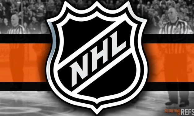 Tonight's NHL Referees and Linesmen – 10/23/2019