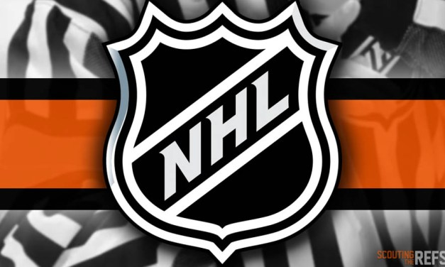 Tonight's NHL Referees and Linesmen – 12/15/2019