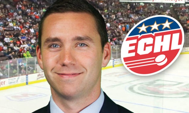 ECHL Names Stephen Thomson Head of Officiating